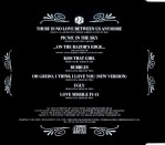 CD inlay - back cover