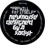 LP sleeve label