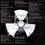 US CD inlay back cover