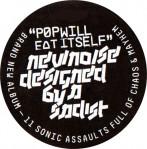 US CD case label