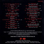 2003 CD inlay back cover