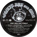 LP B-side label